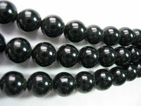 "18""-20"" 8mm 3-stands agate beadsl&agate clasp"