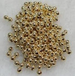 Wholesale 14k 3mm solid gold ball septa - 10 pieces