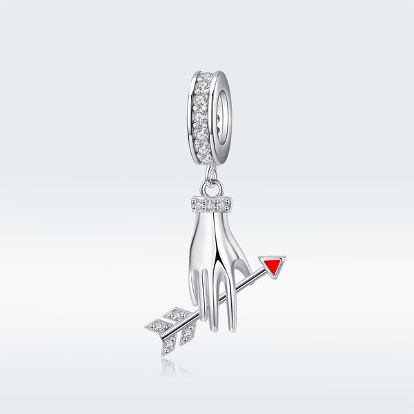Sterling 925 silver charm the Jupiter arrow bead pendant fits Pandora charm and European charm bracelet