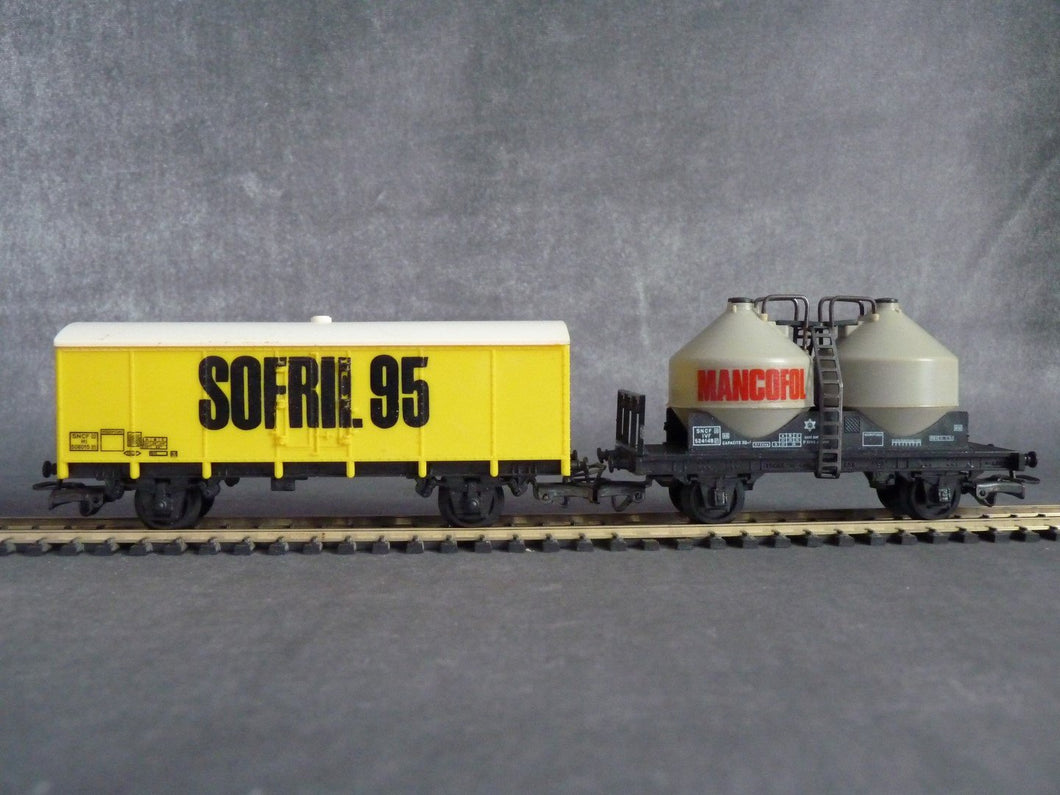 JOUEF HORS CATALOGUE  wagons SOFRIL 95 -  MANCOFOL
