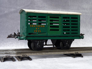 HORNBY  Wagon à bestiaux SOUTHERN