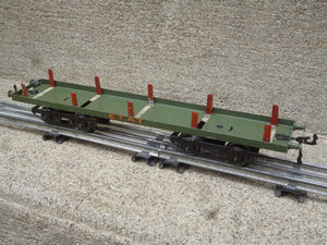HORNBY Grand wagon à ranchers ETAT vers 1928-32