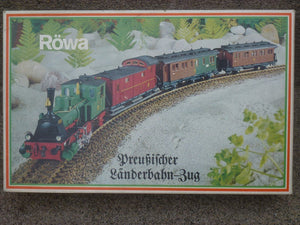 RÖWA 1101 PREUSSICHER LÄNDERBAHN ZUG coffret train Prussien ancien