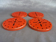 Charger l'image dans la galerie, Meccano, lot de 4 flasques rouges