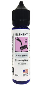 Element E Liquid Strawberry Whip Element Premium Dripper Series | Online Vape Shop | Bargain Vape UK