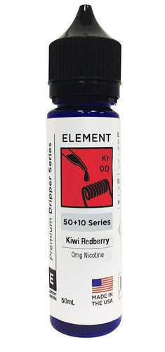 Element E Liquid Kiwi Redberry Element Premium Dripper Series | Online Vape Shop | Bargain Vape UK