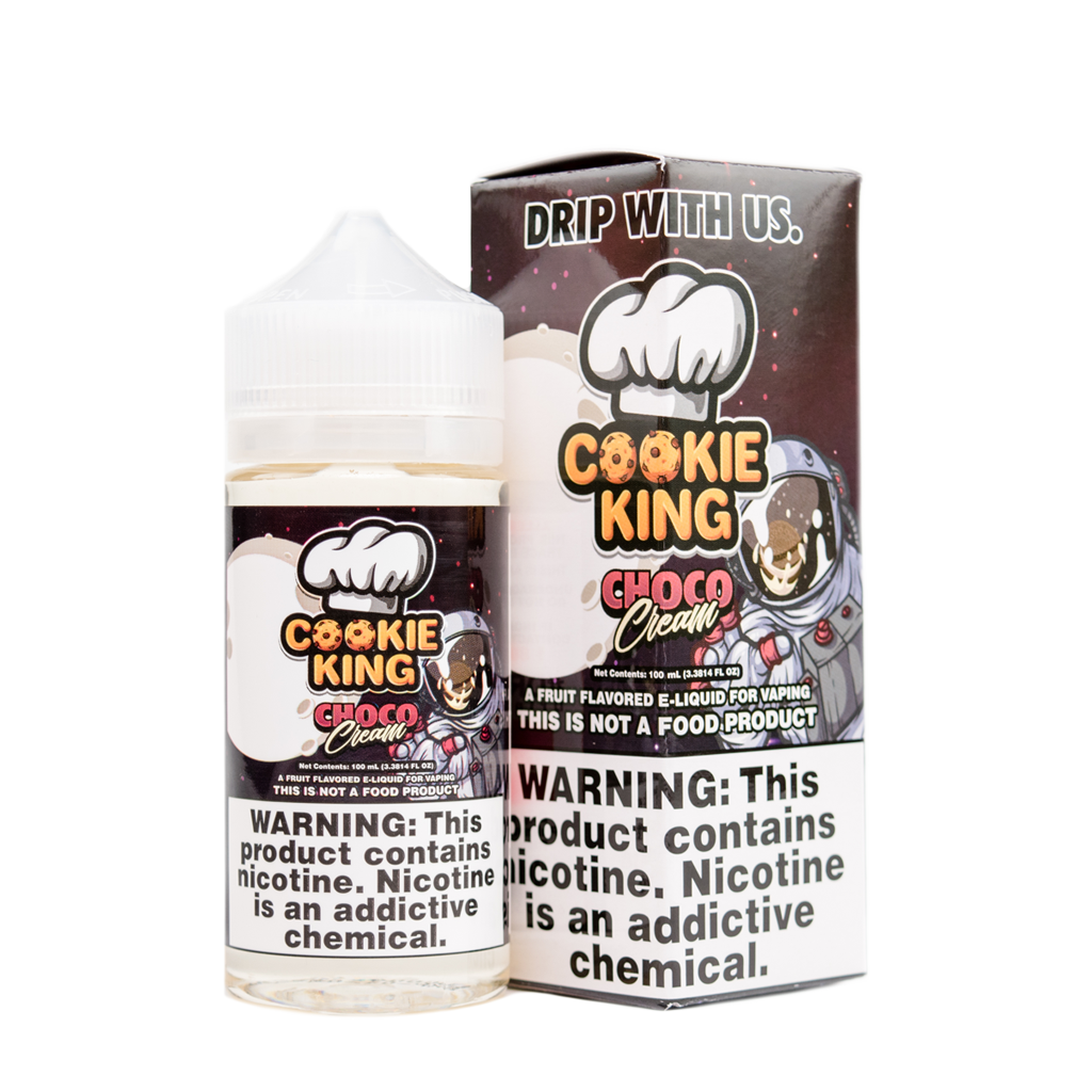Drip More E Liquid Choco Cream Cookie King | Online Vape Shop | Bargain Vape UK