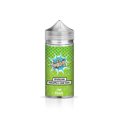 Sparkling Pineapple & Lime Soda Limited Edition Series 100ML Shortfill 70VG