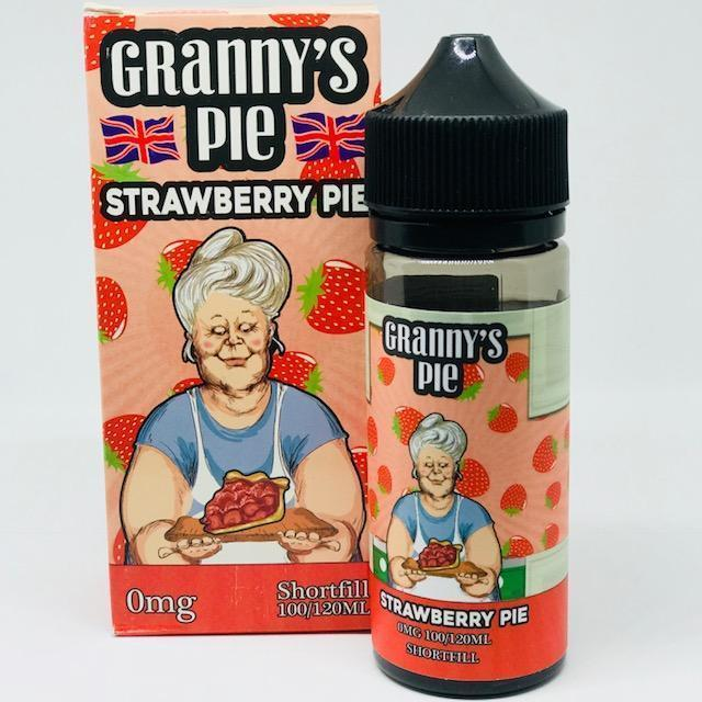 Granny's Pie E Liquid Strawberry Pie | Online Vape Shop | Bargain Vape UK