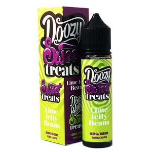 Doozy Vape E Liquid Lime Jelly Beans Sweet Treats | Online Vape Shop | Bargain Vape UK