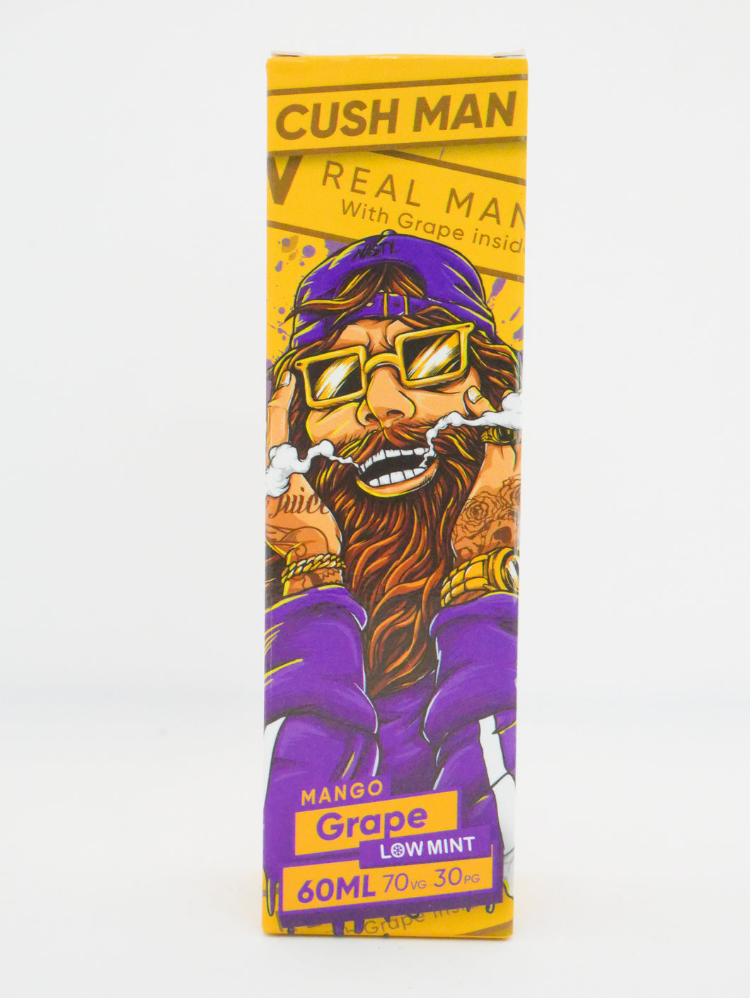 Nasty Juice Grape Mango Cush Man Series E Liquid UK Online Vape Shop UK