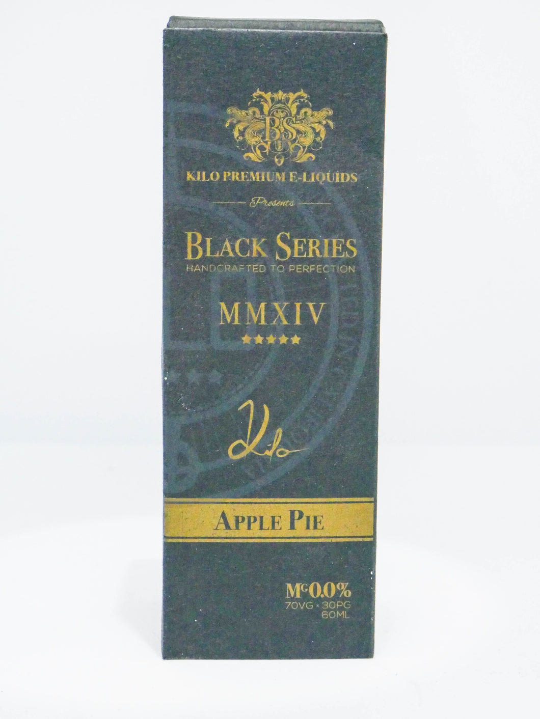 Kilo Premium E Liquid Black Series Apple Pie | Online Vape Shop | Bargain Vape UK