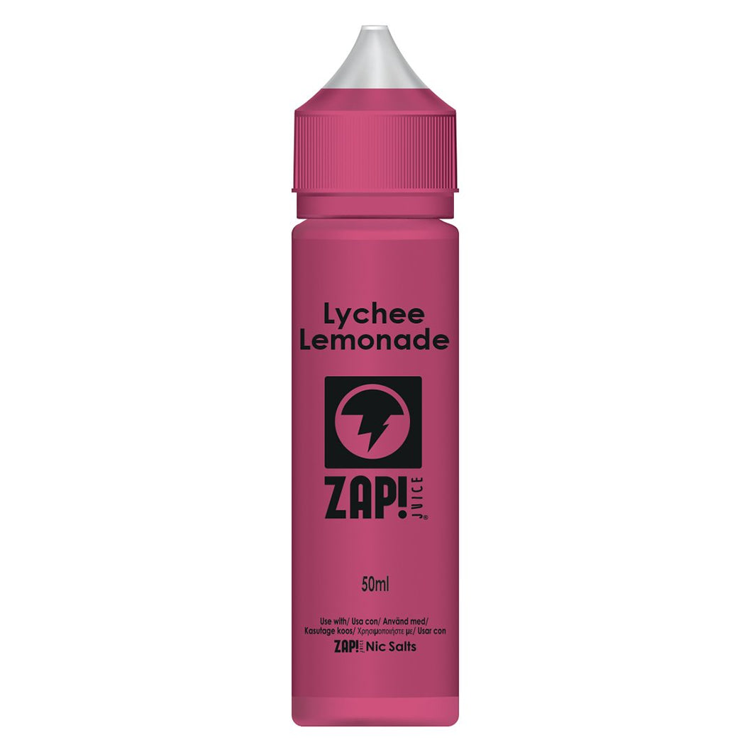ZAP! Lychee Lemonade E Liquid UK Vape Shop Online UK
