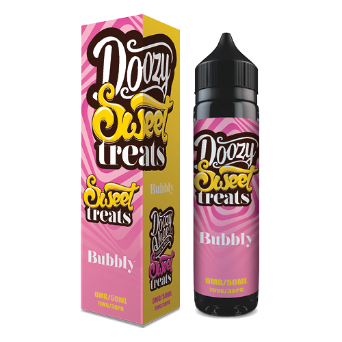Doozy Vape E Liquid Bubbly Sweet Treats | Online Vape Shop | Bargain Vape UK