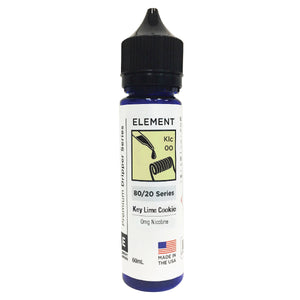 Element E Liquid Key Lime Cookie Premium Dripper Series | Online Vape Shop | Bargain Vape UK