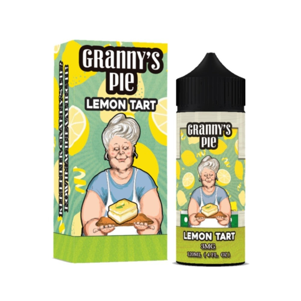 Granny's Pie E Liquid Lemon Tart | Online Vape Shop | Bargain Vape UK