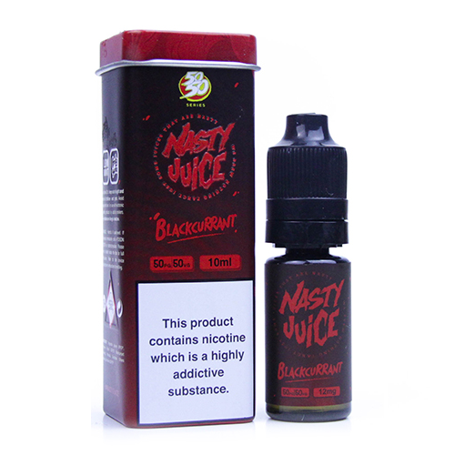 Nasty Juice Blackcurrant 10ML