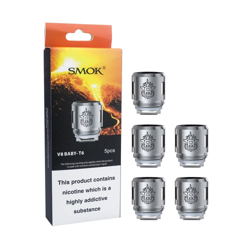 Smok TFV8 Baby T6 0.2 OHM Replacement Coil