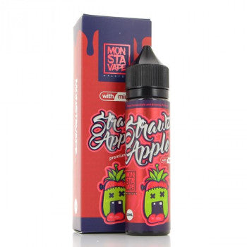 MonSta Vape E Liquid Strawz Apple | Online Vape Shop | Bargain Vape UK