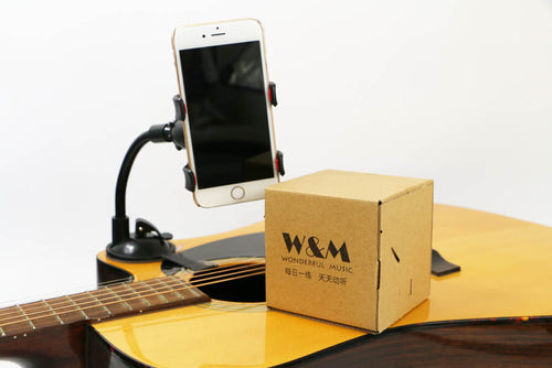 Mobile phone guitar bracket holder