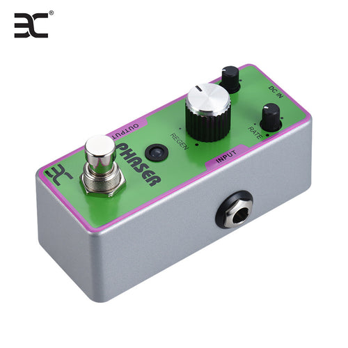 EX TC-42 Electric Guitar Phaser Phase Effect Pedal Full Metal Shell True Bypass