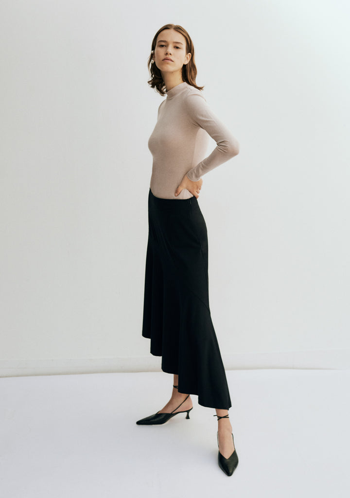 Edition 1 0009 a/symmetric midi skirt