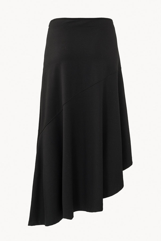 CAES - 0016 a/symmetric midi skirt back