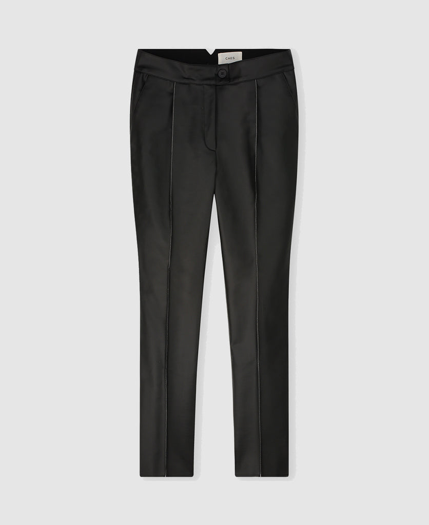 Edition 3 - 0001 Vegea leather look straight trousers