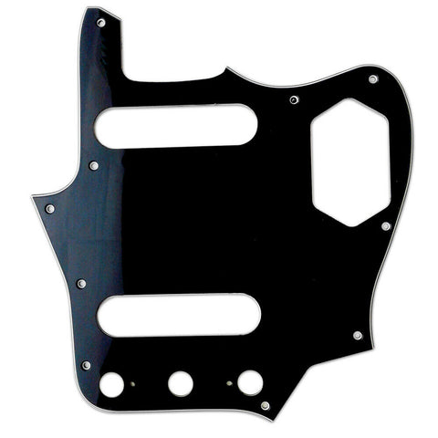 American Vintage Series Jaguar Pickguard - Black