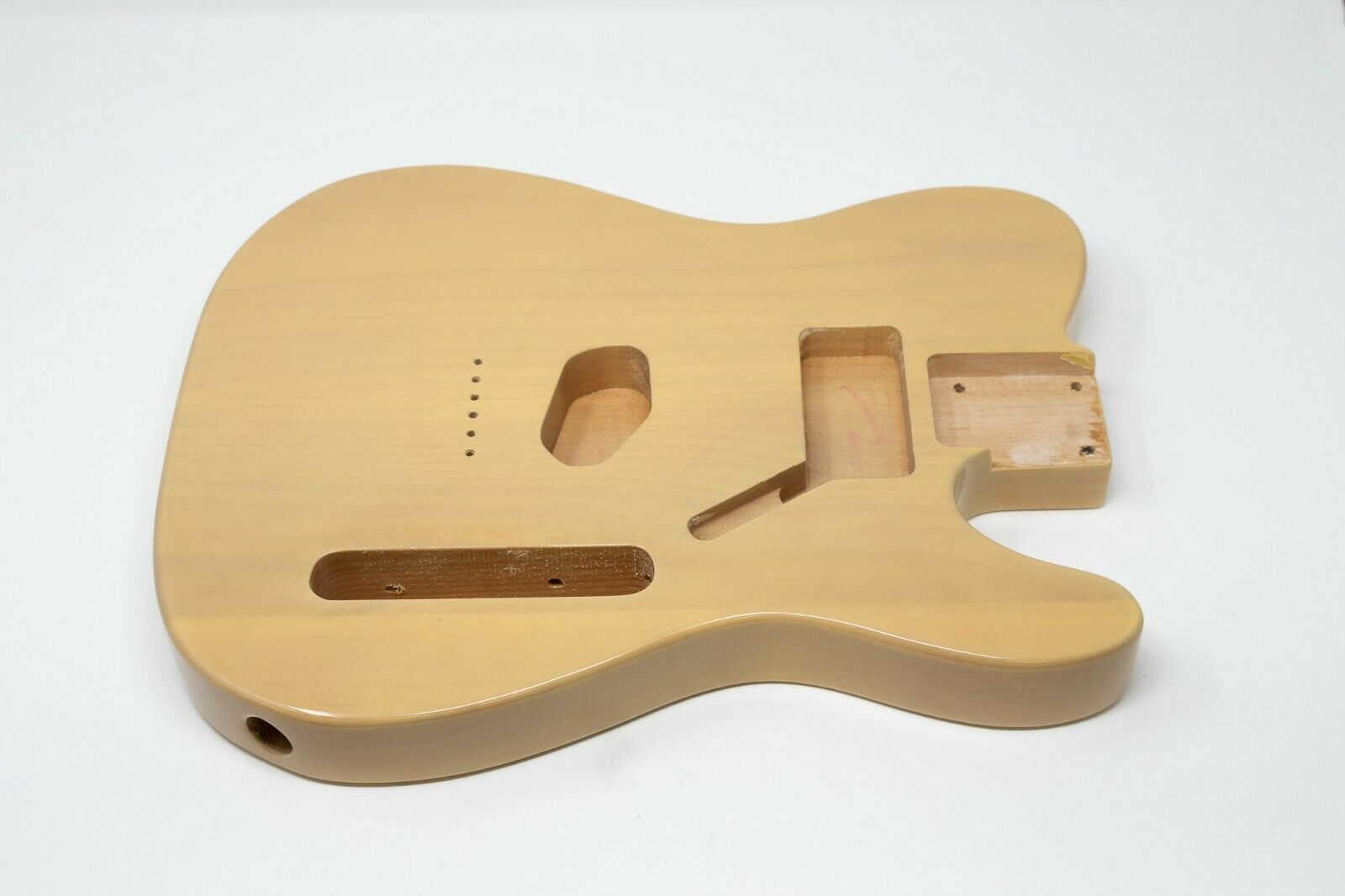 Eden® Standard Series DIY Alder Tele Guitar Body HS Butterscotch Blonde