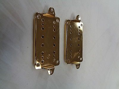 Humbucker Pickup Bass Plates 50mm and 52mm PP10 Gold
