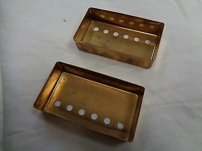 Gold Pickup Covers for Electric Guitar
