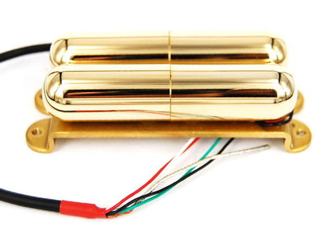 Artec Alnico 5 Lipstick Humbucker Pickup Gold Bridge