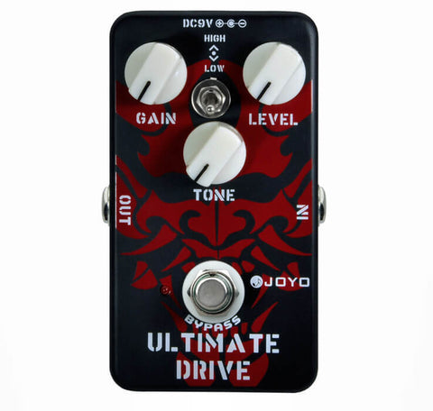 JOYO JF-02 Ultimate Drive Effects Pedal True Bypass