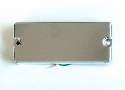 Artec Soap Bar 4 String Bass Neck Pickup Chrome