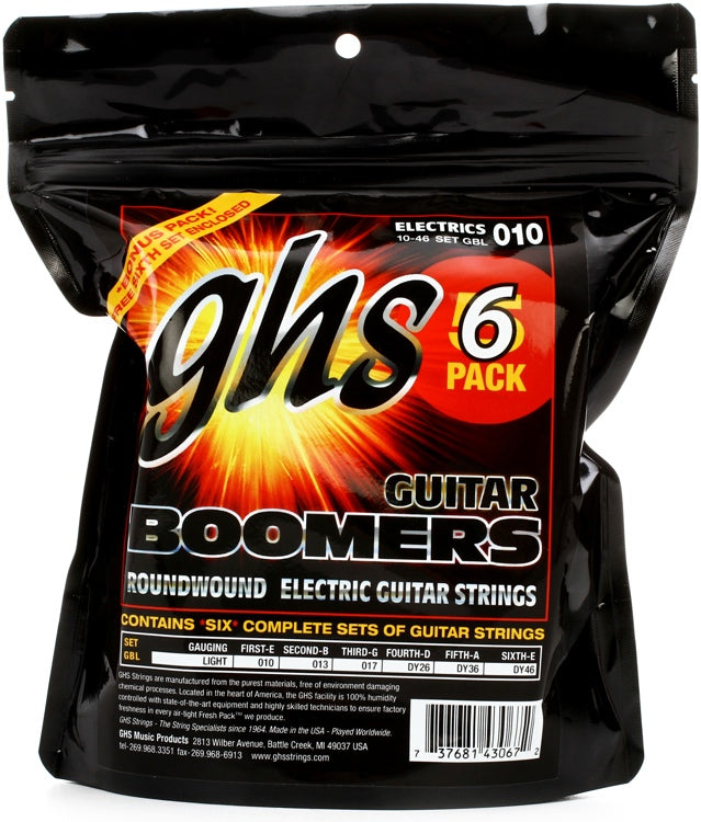 GHS Boomers® Multi Pack - Light 10-46