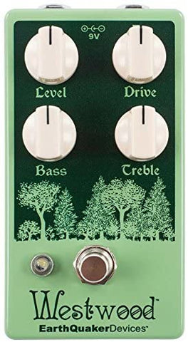 EarthQuaker Devices Westwood Translucent Drive Manipulator Guitar Effects Pedal