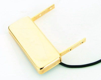 Artec Neck Mount Pickup for Arch Top Jazz Guitar Gold