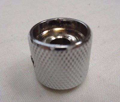 Chrome Control Knob Screw Fixing with Pearl Inlay