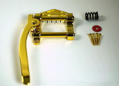 Vibrato Tremolo Bridge for Archtop Hollow Semi-Hollow Jazz Guitar