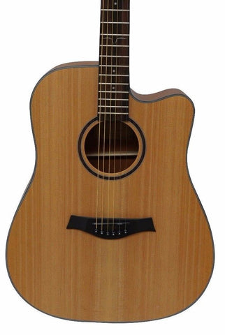 "Ranch PG-D1C 41"" Dreadnaught Acoustic Guitar"
