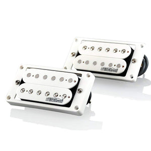 Wilkinson MWHB Bridge & Neck Pickup Set - White - High Output