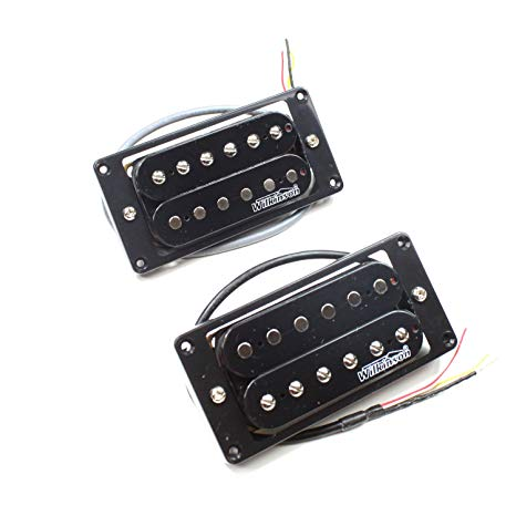 Wilkinson MWHB Bridge & Neck Pickup Set - Black - High Output