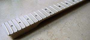 Eden S-Style Guitar Neck Maple on Maple 22 Frets Star Inlay