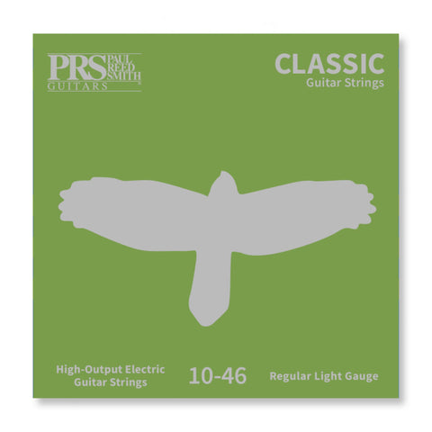 PRS Guitar String Sets, (3 Pack) Uncoated .010-.046 Nickel Round Wound