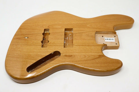 Allen Eden® Premier Series Alder JB-Style Bass Body Natural Gloss
