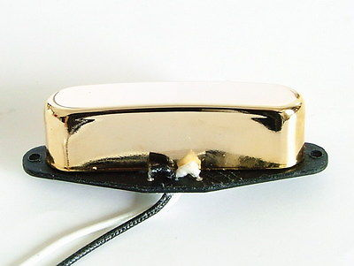 Artec Alnico 5 Single Coil Tele Neck Pickup Gold