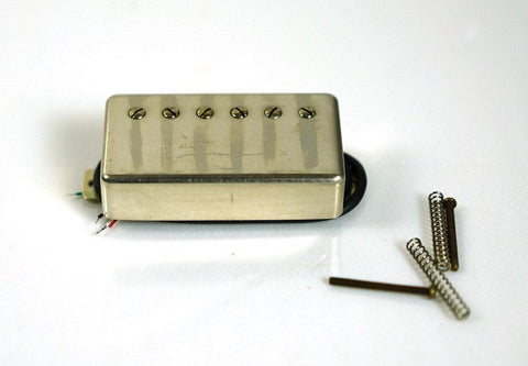 Artec Giovanni Custom 59 Humbucker Neck Pickup Aged Nickel