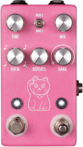 JHS Pedals Lucky Cat Delay Guitar Effects Pedal