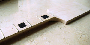 Eden Full Scale Bass Neck Maple/Maple Block Inlay